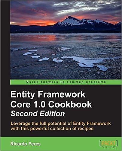 Download PDF Entity Framework Core 1.0 Cookbook - Second Edition