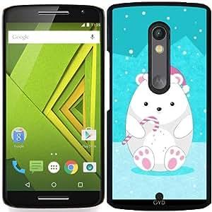 Funda para Motorola Moto X Play - Oso Polar by eDrawings38