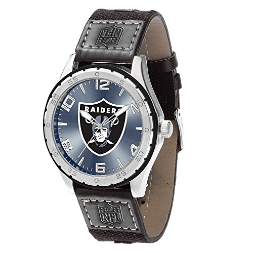 Gifts Watches NFL Oakland Raiders Gambit Watch by Rico Industries