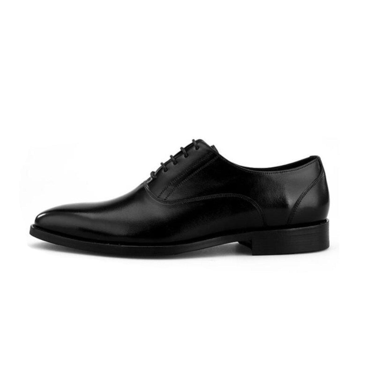 DKFJKI  Herrenwear Leder Leder Schuhe British Finger Spitze Geschäft Formalwear Gehobenen Männer Lederschuhe