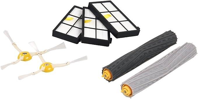 iRobot 4422280 siuministro para aspiradora - Accesorio para aspiradora (iRobot Roomba 800, Negro, Color blanco): Amazon.es: Hogar