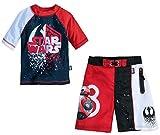 Star Wars Last Jedi UPF50+ Swim Rash Guard Shirt