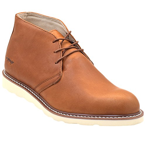 Men's Enzo Fox Chukka Boot Brun Casual Golden 84Exa