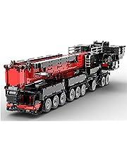 SESAY Technik-kraan Liebherr LTM 1750-9.1 model, 2.4G RC/APP technologie op afstand bestuurde kraan bouwstenen bouwset met 12 motoren, 7769 onderdelen bouwstenen bouwset compatibel met Lego-technologie -upgraded versie