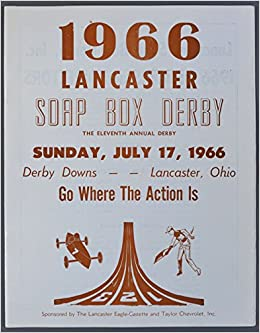1966 Lancaster Ohio Soap Box Derby Souvenir Program: None: Amazon.com: Books
