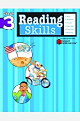Reading Skills: Grade 3 (Flash Kids Harcourt Family Learning) Paperback