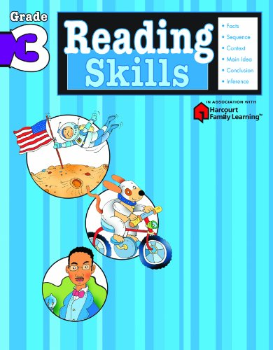 Reading Skills: Grade 3 (Flash Kids Harcourt Family Learning) PDF
