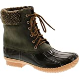 Nature Breeze Ladies Duck-02 Lace Up and Zipper Waterproof Insulated Boot