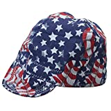 Fashion style Welding Caps Of Colorful Flag for Welders
