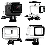 AxPower Waterproof Housing for GoPro HERO 5 6 Sport Camera Underwater Diving Protective Case [45m Depth]