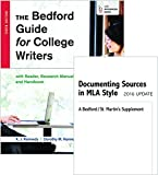 Bedford Guide for College Writers with Reader, Research Manual, and Handbook 10e and Documenting Sources in MLA Style 10th Edition