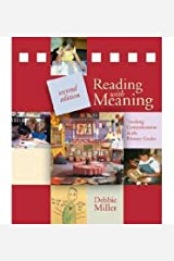 [(Reading with Meaning: Teaching Comprehension in the Primary Grades)] [Author: Debbie Miller] published on (December, 2012) Paperback