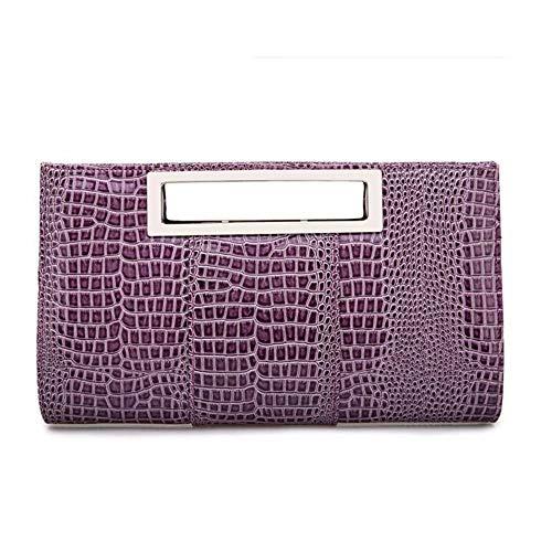 Colori Di Modo Femminile Purple Della Capienza I package Ha Borsa La Multiplo Sposa Grande Gg Personalità qX1w6x