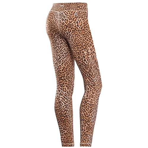 over Regular A 7 Sul Leggings Stampa Freddy Colore Leopardato All Contrasto In Animalier Superfit Vita 8 Fianco gxAtx6zw