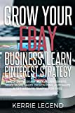 Grow Your eBay Business: Learn Pinterest Strategy: How to Increase Blog Subscribers, Make More Sales, Design Pins, Automate & Get Website Traffic for Free