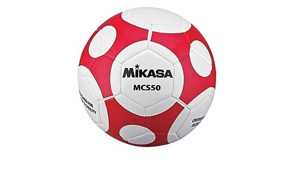 Mikasa Sports mcs50 Serie Oficial de balón de fútbol - MCS50-WR ...