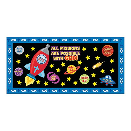 Mission of Faith Bulletin Board Set