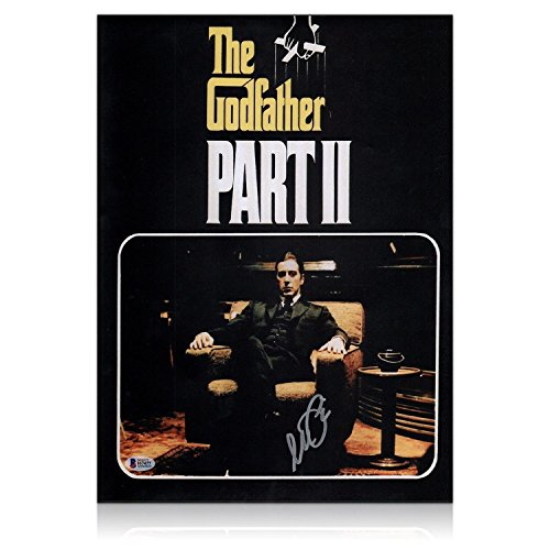 Al Pacino Signed Godfather 2 Film Poster from Exclusive Memorabilia