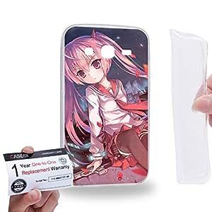 Case88 [Samsung Galaxy Core Prime G360] Gel TPU Carcasa/Funda & Tarjeta de garantía - Aria the Scarlet Ammo Aria Holmes Kanzaki 2095