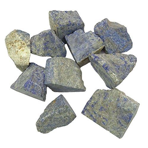 HARMONIZE Wholesale Natural Raw Lapis Lazuli Stone Assorted Sizes Reiki Healing Stone Bulk