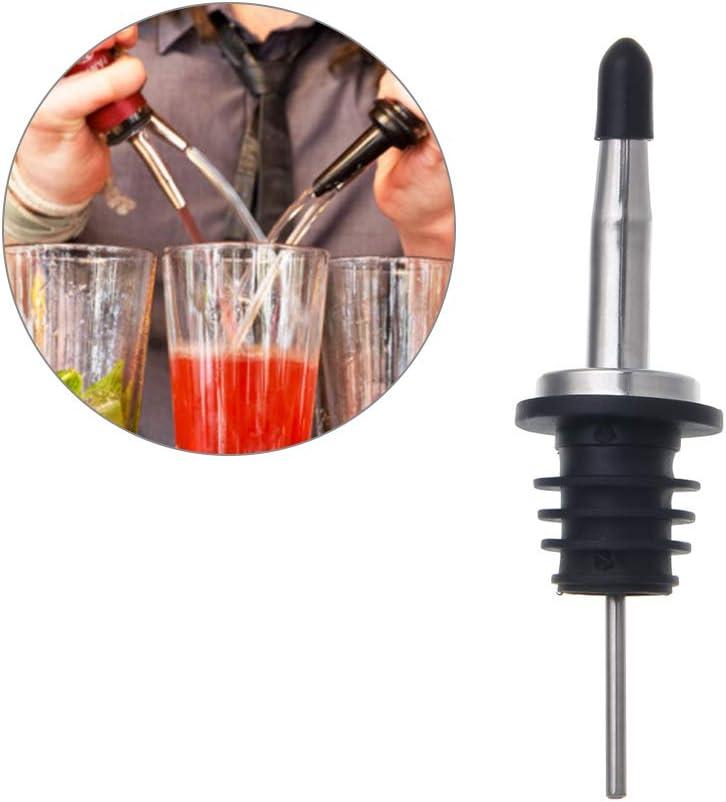 SimpleLife Whiskey Liquor Wein /Öl Flasche Ausgie/ßer Stopper Pour Auslauf Dispenser mit Kappe