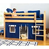 Maxtrix Kids Low Rider / Easy Rider Twin Mansion Low Loft Bed