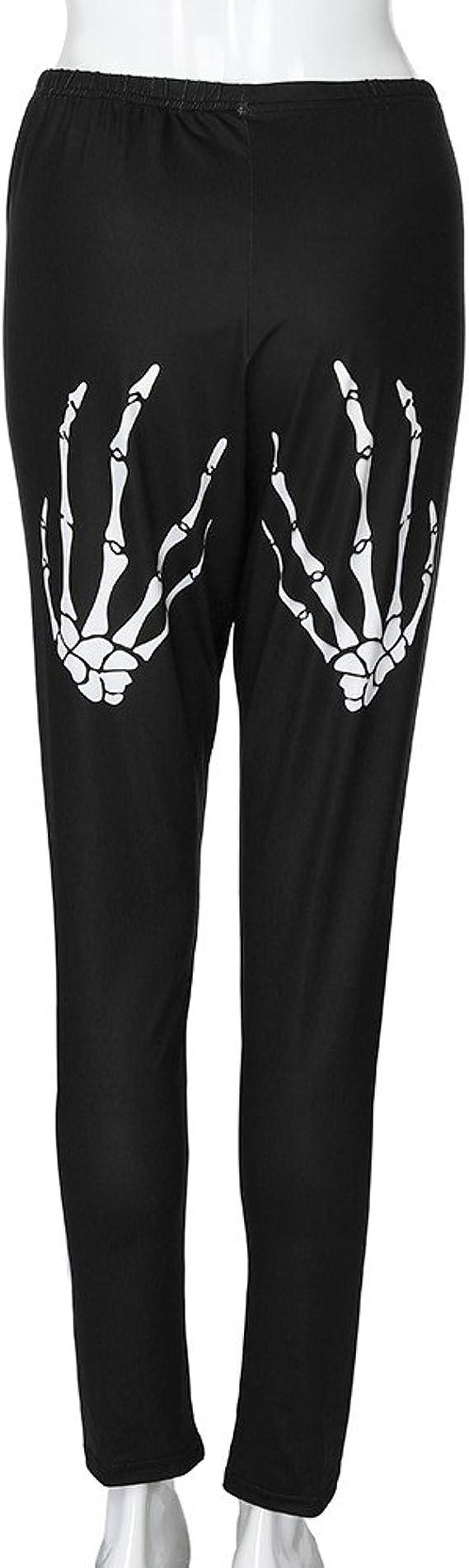 LILICAT Mode Femmes Taille Haute Yoga Sport Pantalon Plus La Taille Shredding Cr/ânes Jambi/ères Mode Cr/âne Trou Grande Taille Pantalons