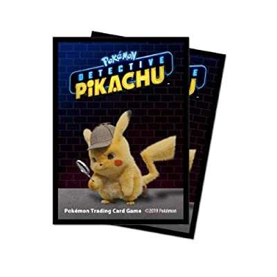 Ultra PRO Pokemon: Detective Pikachu Standard Deck Protectors (65 ct.) for Magic & Pokemon: Toys & Games