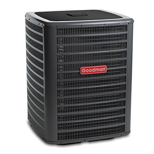 Goodman GSX160601 Single-Phase 16 Seer R-410A Condensing Unit, 5 Tons, 54,000 Btu, 208 / 230 Volts, 29.6 Amps (5 Ton 16 Seer Heat Pump compare prices)