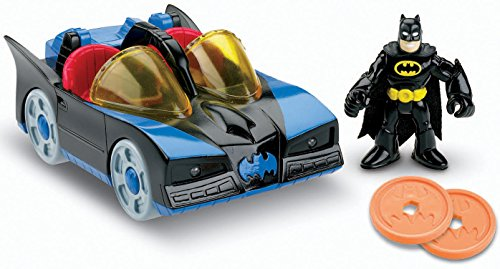Fisher-Price Imaginext DC Super Friends, Batmobile with (Imaginext Batmobile)