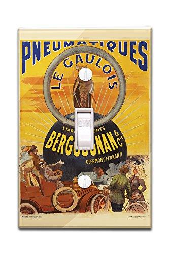 pneumatiques-bergougnan-le-gaulois-vintage-poster-france-c-1905-light-switchplate-cover