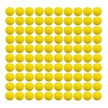 Yosoo 100 Pcs Rounds Refill Compatible Bullet Balls Pack For Nerf Rival Zeus MXV-1200 Apollo XV-700 Blaster