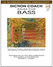 Diction Coach - G. Schirmer Opera Anthology (Arias for Bass): Arias for Bass