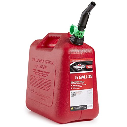 Briggs & Stratton Smart Fill No Spill Fuel Gas Can (5 Gallon) ()