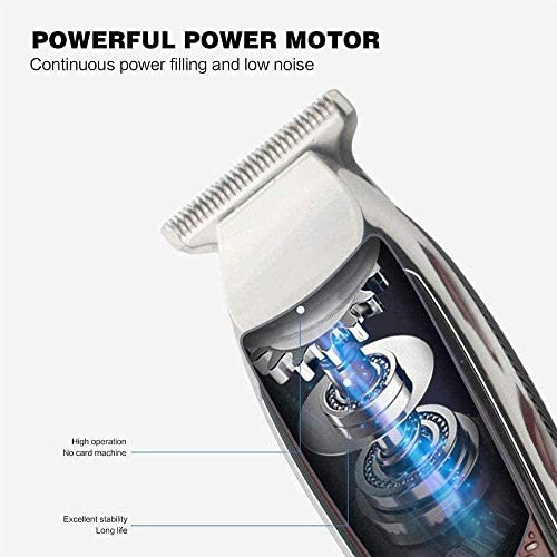 Hair Clipper Electric Retro Oil Head Hair Clipper USB Hair Clipper Hairdressing Lettering Styling Trim Shaved Head Electric Fader  To6XX