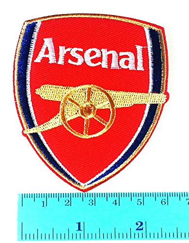 Arsenal Club - Arsenal League Premier League Football Club logo Jacket T Shirt Patch Sew Iron on Embroidered Symbol Badge Cloth Sign Costume