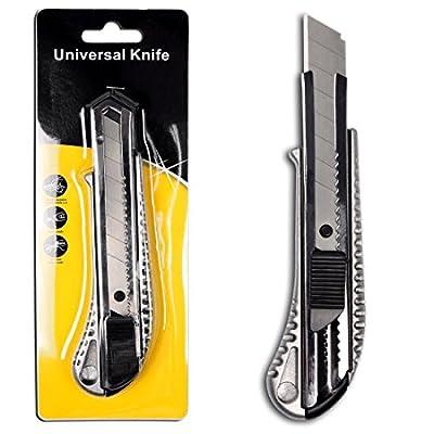 5-Stck-Alu-Druckguss-Cuttermesser-mit-18mm-Abbrechklinge-Teppichmesser-Mehrzweck-Messer-Allzweckmesser