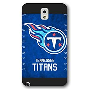 Onelee Customized NFL Series Case for Samsung Galaxy Note 3, NFL Team Tennessee Titans Logo Samsung Galaxy Note 3 Case, Only Fit for Samsung Galaxy Note 3 (Black Frosted Shell)