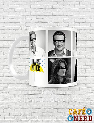 CANECA HOW I MET YOUR MOTHER PERSONAGENS