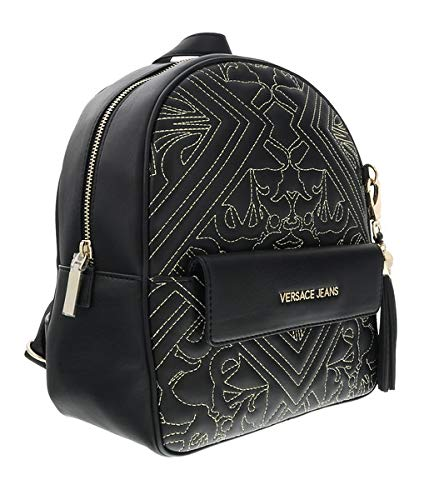 1b84d7961b40 Versace EE1VSBBZ7 EM27 Black/Gold Backpack for Womens: Amazon.co.uk ...