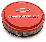 Proform 141-831 - Slant Edge Bowtie Air Cleaner, Chevy Orange