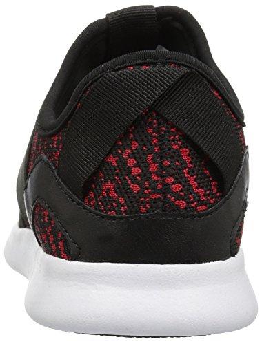 Steve Madden Mens Bryden Fashion Sneaker Nero / Rosso