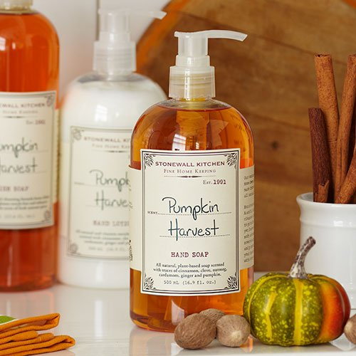 Stonewall Kitchen Harvest - Stonewall Kitchen Pumpkin Harvest Hand Soap, 16.9 Ounces