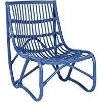 Safavieh Home Collection Shenandoah Chair, Blue