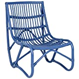 Safavieh Home Collection Shenandoah Chair, Blue For Sale