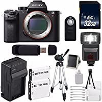 Sony Alpha a7R II Mirrorless Digital Camera (International Model no Warranty) + 32GB SDHC Class 10 Memory Card 6AVE Bundle 1