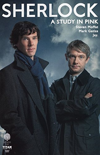 Sherlock A Study In Pink #3 Cover B