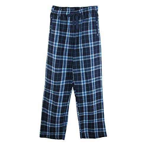 boxercraft Children's Flannel Lounge Pants, Large, Blue