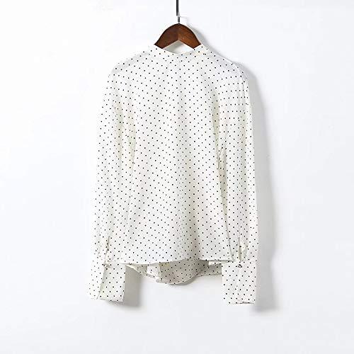 Camicie Camicie Cnsdy da da manica Maglie a donna da Cross studente lunga donna Backless S Camicie Waves Oddr61