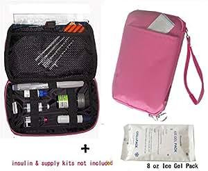 Amazon.com: Diabetic/Cosmetic Organizer Cooler Bag-for